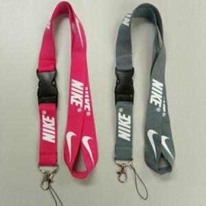 2 New Nike Lanyards